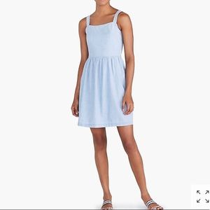 NWT J. Crew Factory Chambray Summer Tank Dress